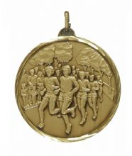 52mm Unisex Running Medal 397CT